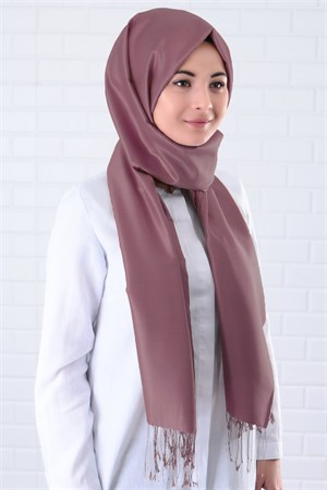 Shawl - %100 Silk - Pale Pink - SAL03