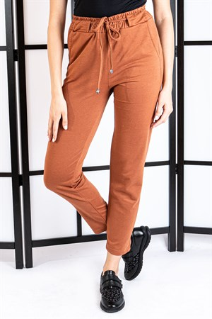 Pants - Pocketed - Camel - TN308