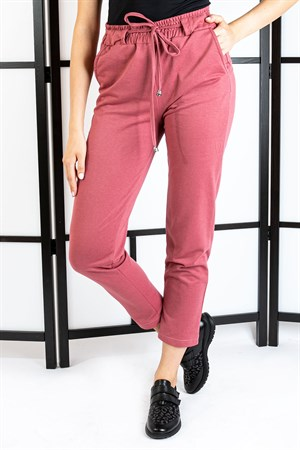 Pants - Pocketed - Pale Pink - TN308