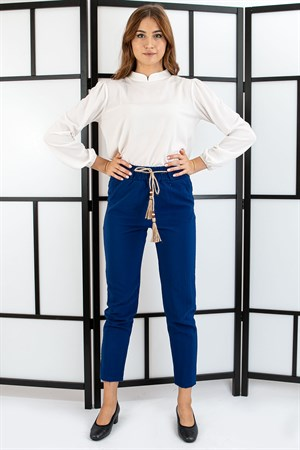 Pants - Belt - Indigo Blue- TN312