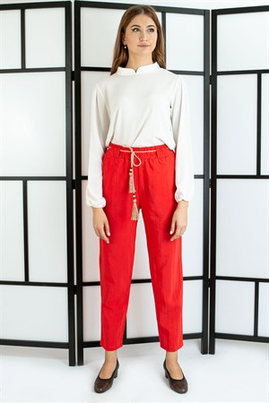 Pants - Belt - Red- TN312