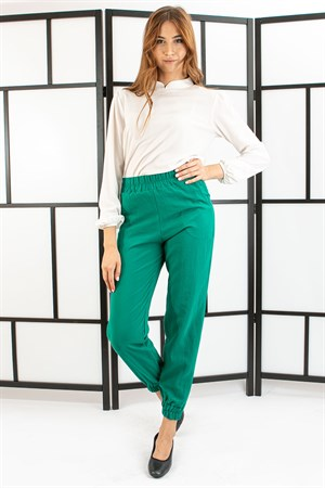 Pants - Pocketed - Emerald Green- TN314
