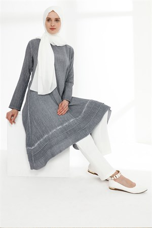 Tunic - Chile Cloth - Grey - TN324