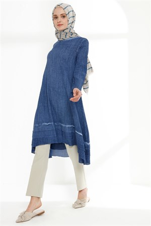 Tunic - Chile Cloth - Indigo Blue - TN324